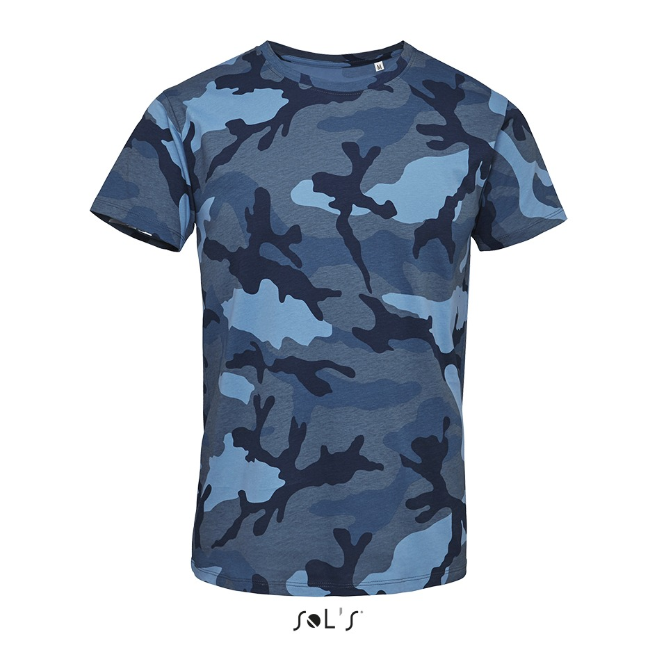 Tee-shirt homme camouflage - 1-1113-3