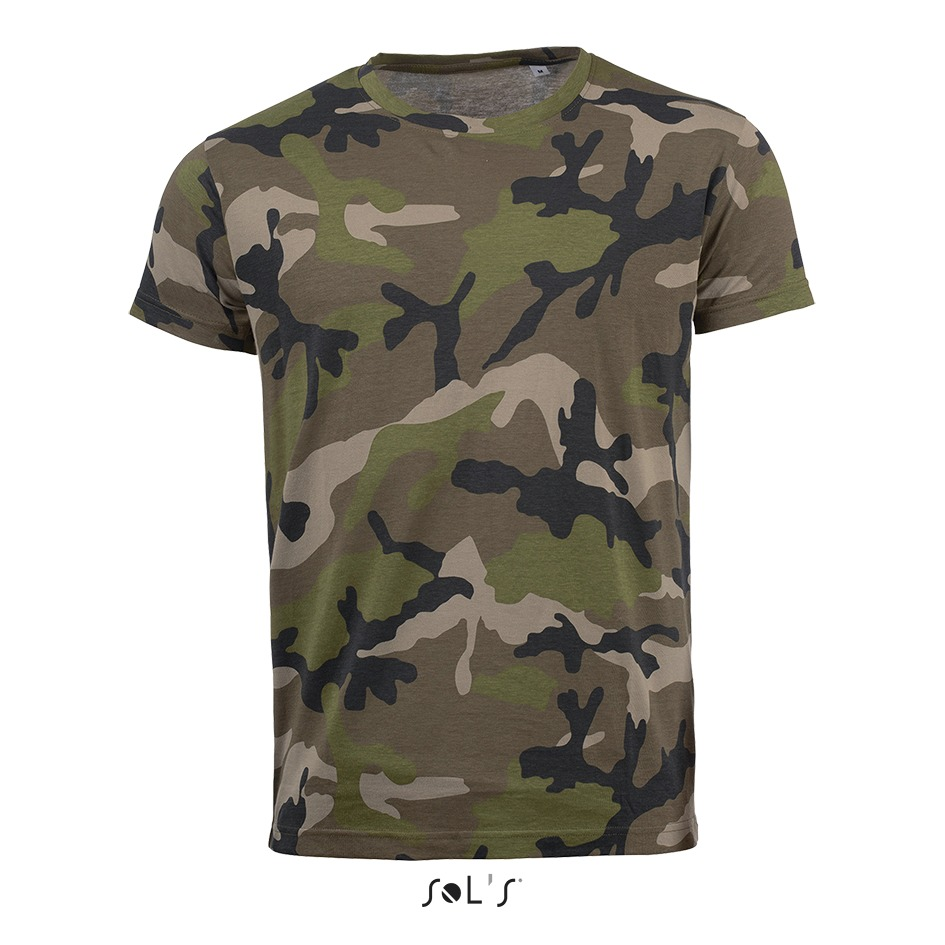 Tee-shirt homme camouflage - 1-1113-4