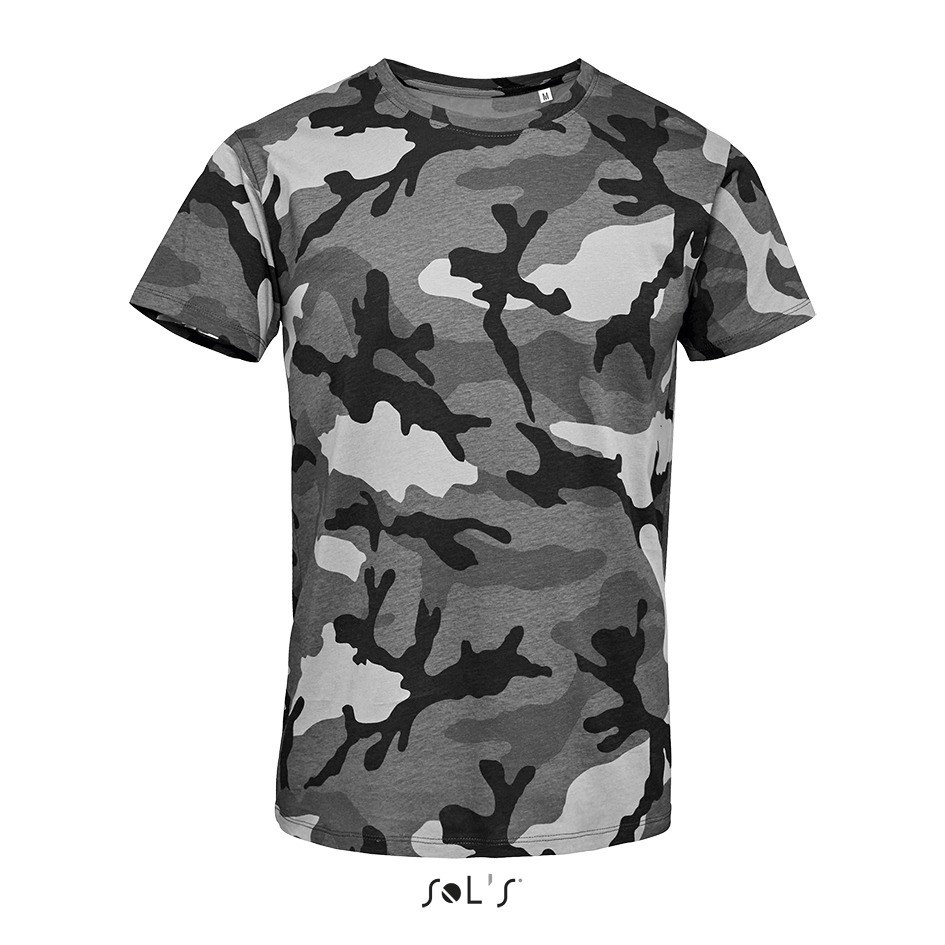 Tee-shirt homme camouflage - 1-1113-5