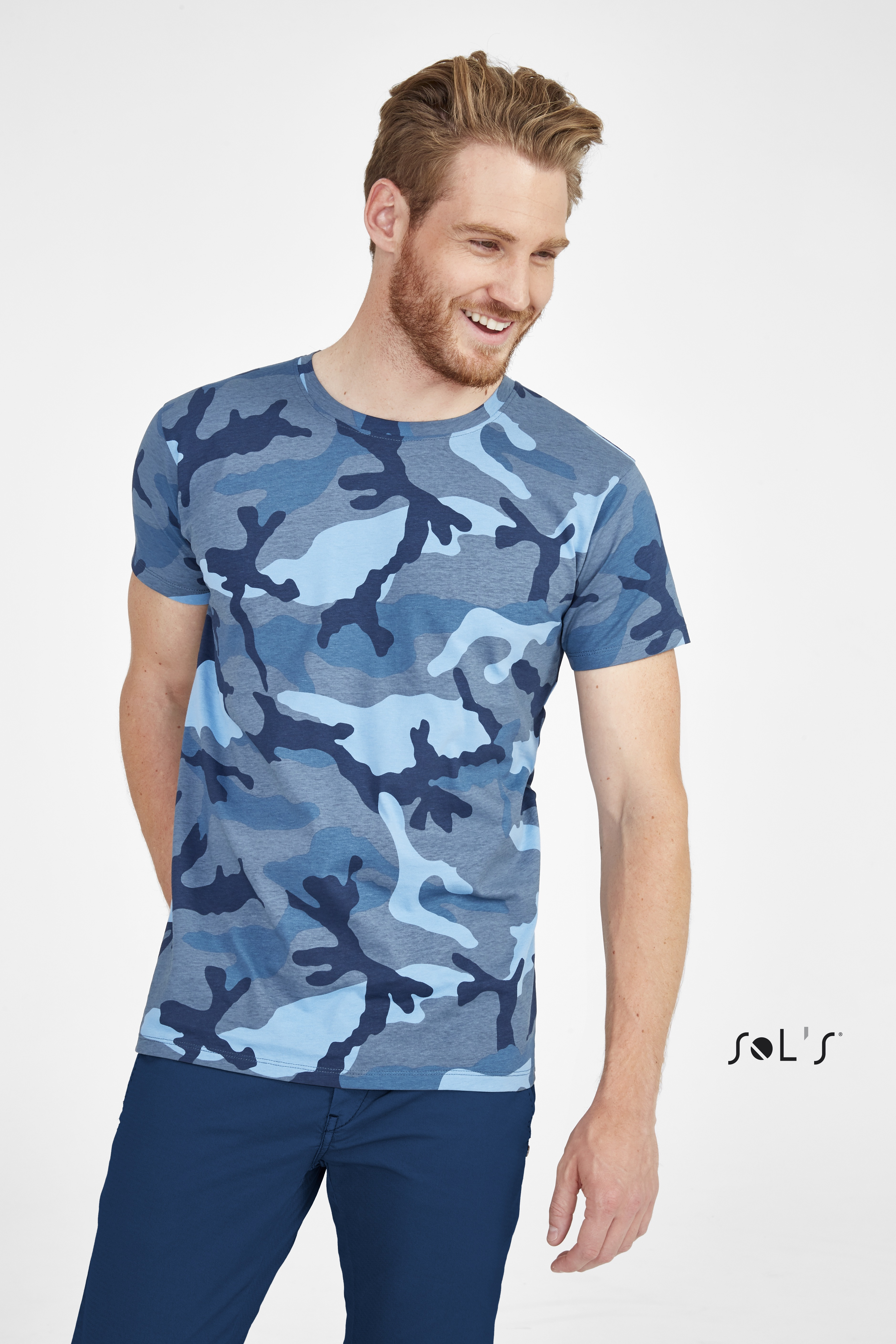 Tee-shirt homme camouflage