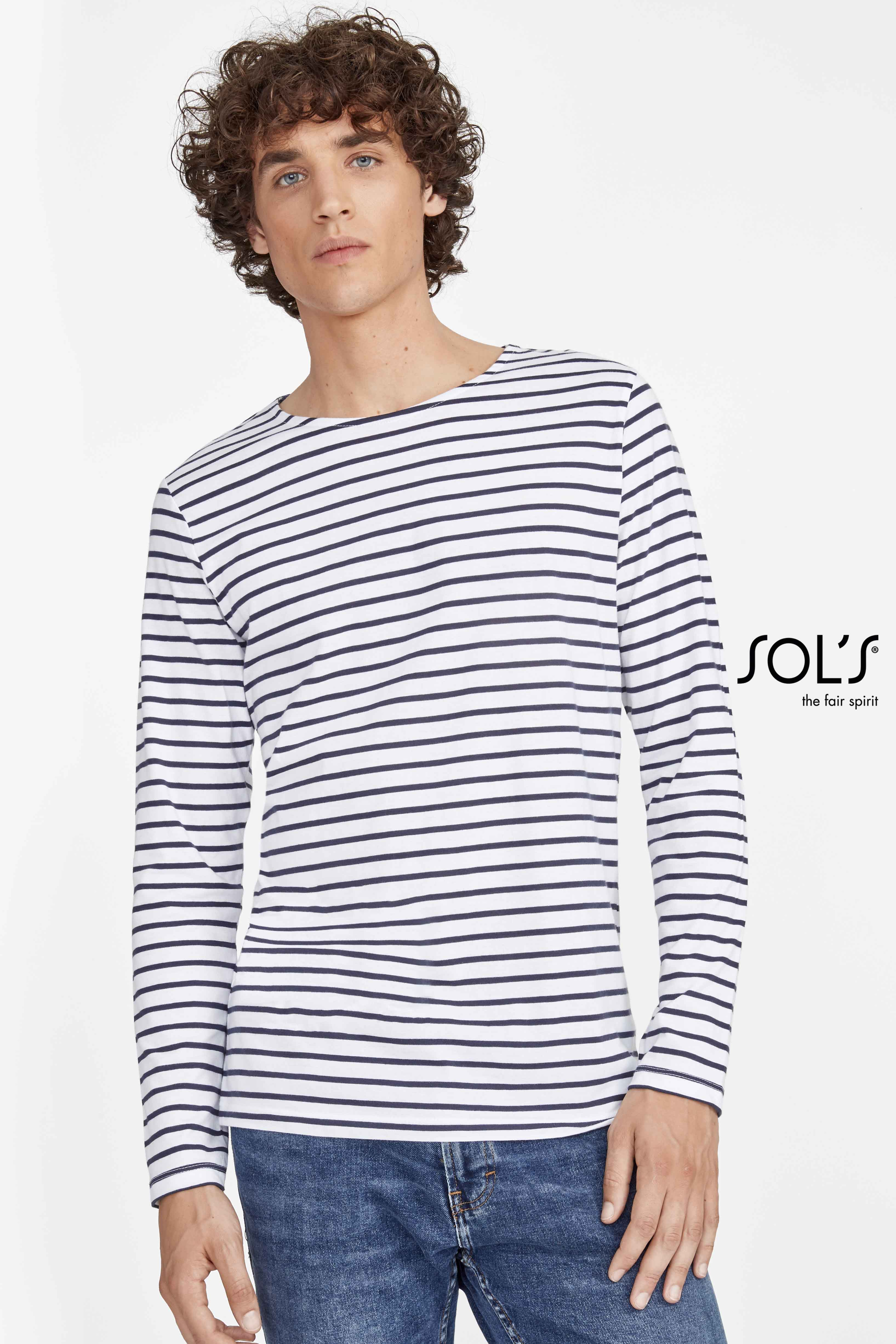 Tee-shirt homme manches longues
