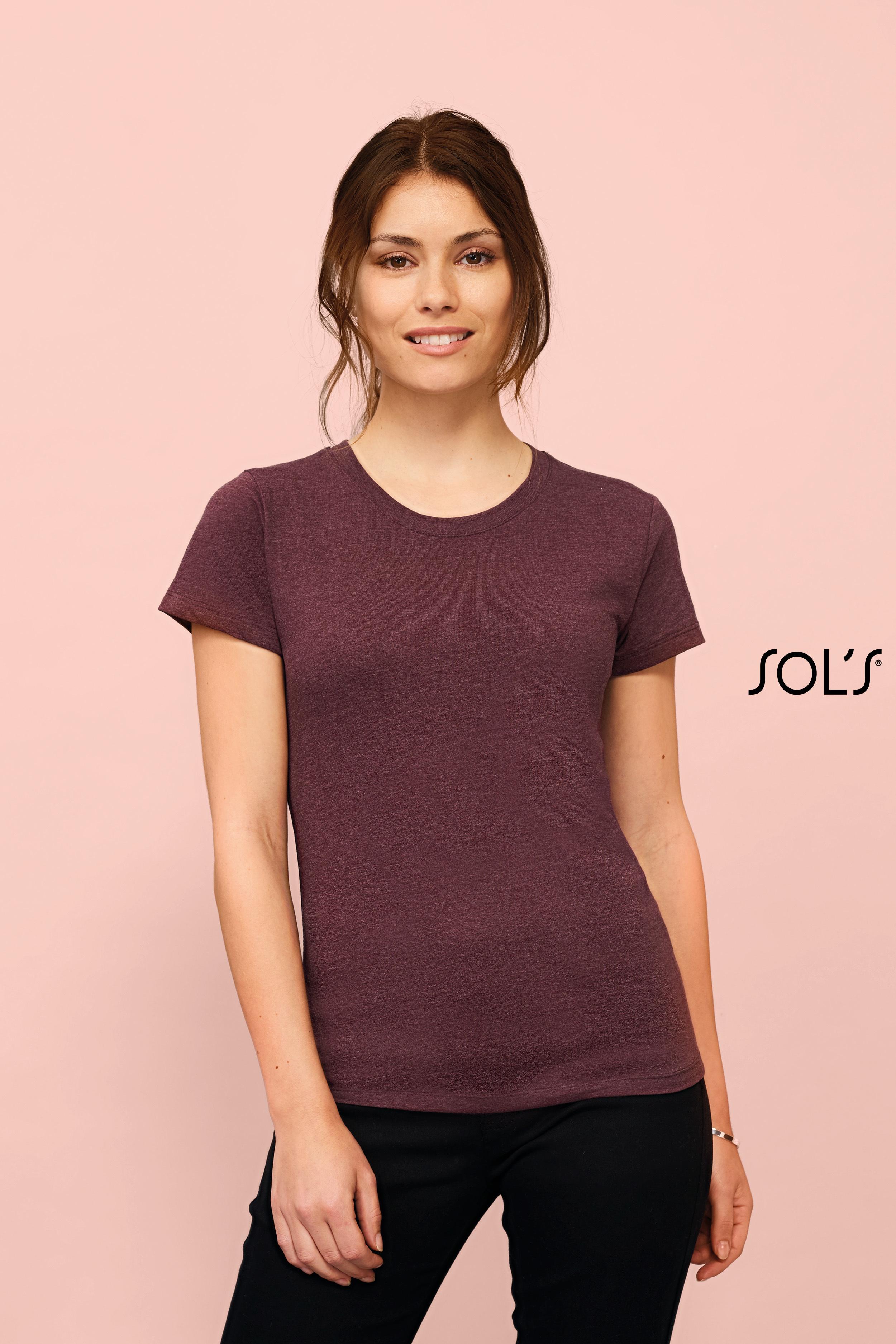 Tee-shirt femme col rond