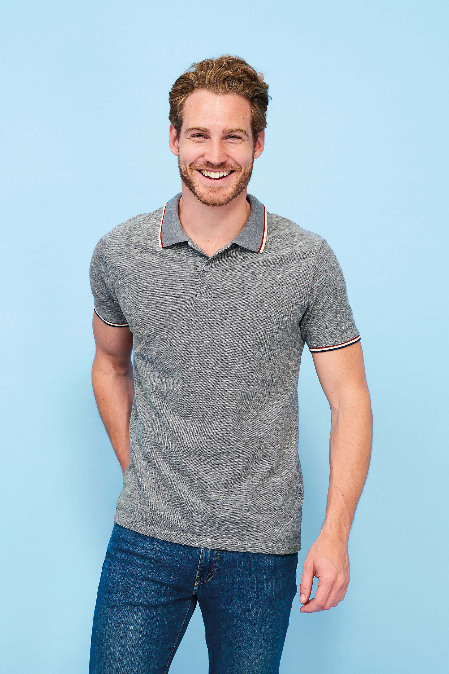 Polo chiné homme Paname