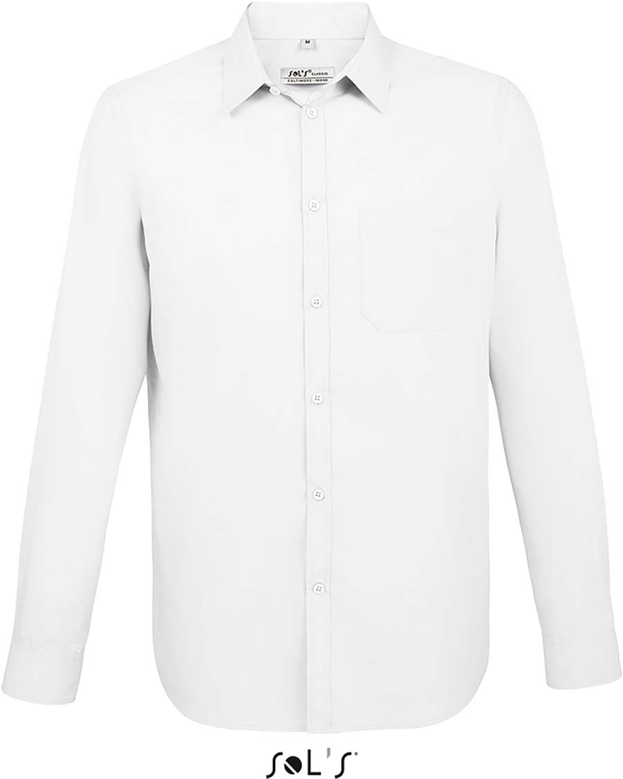 Chemise homme manches longues Baltimore fit - 1-1396-1