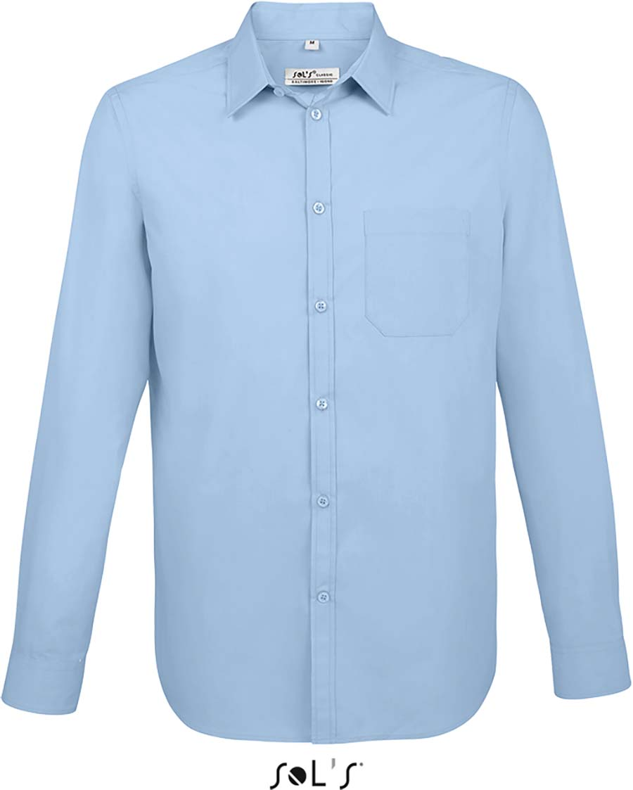 Chemise homme manches longues Baltimore fit - 1-1396-2