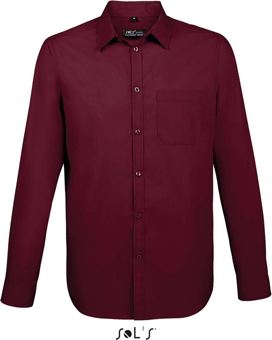 Chemise homme manches longues Baltimore fit - 1-1396-3