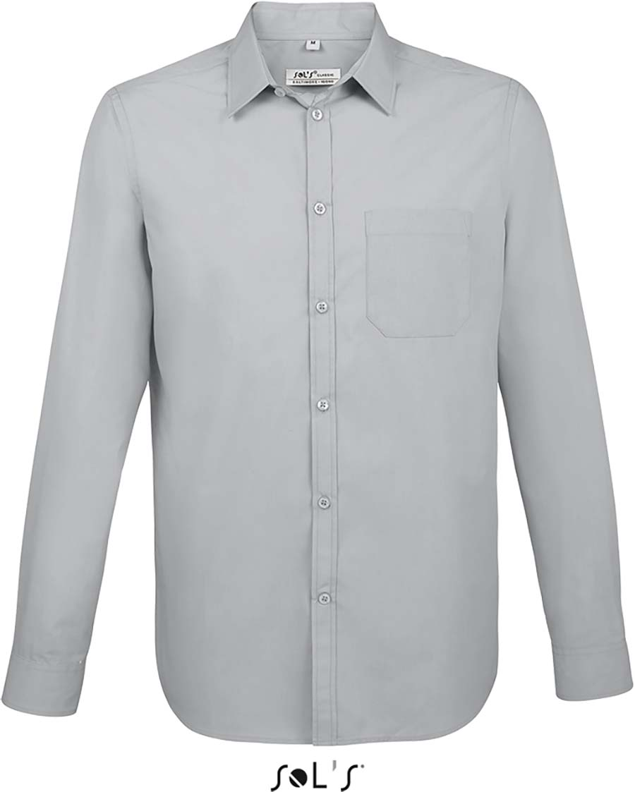 Chemise homme manches longues Baltimore fit - 1-1396-4