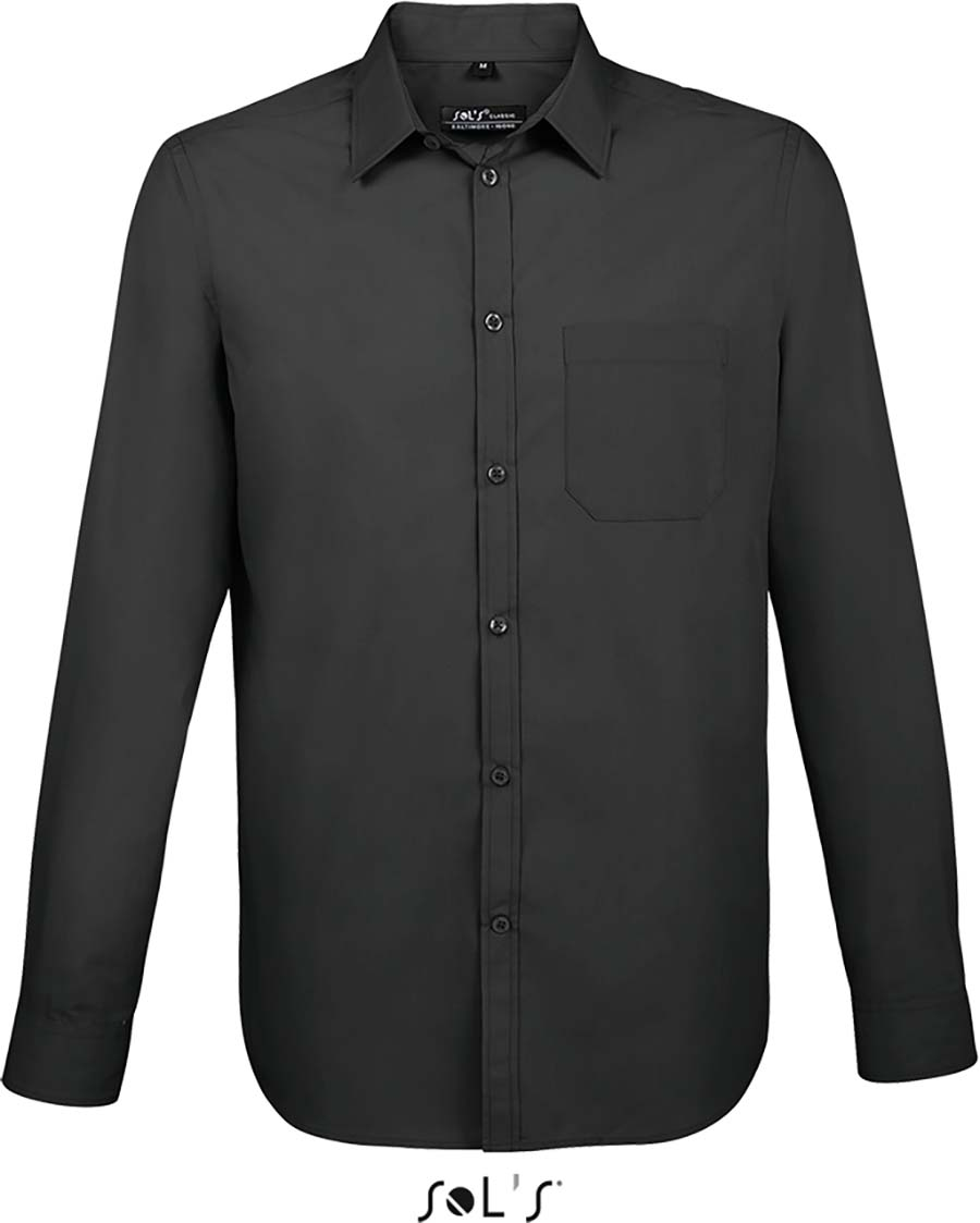Chemise homme manches longues Baltimore fit - 1-1396-5