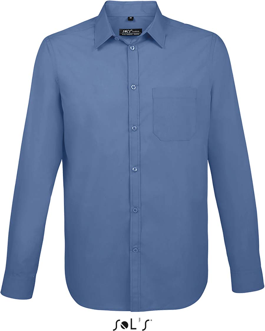 Chemise homme manches longues Baltimore fit - 1-1396-6