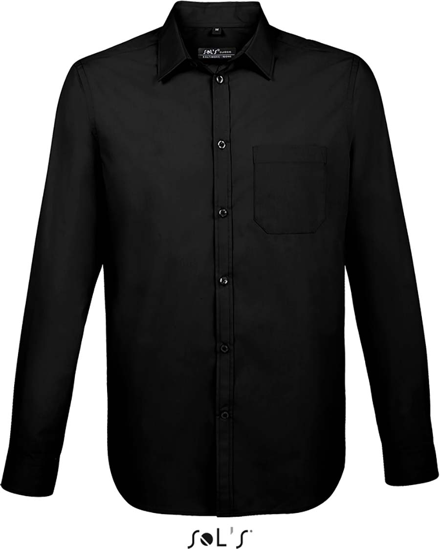 Chemise homme manches longues Baltimore fit - 1-1396-7