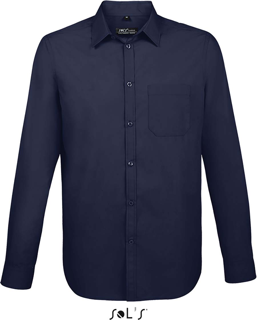 Chemise homme manches longues Baltimore fit - 1-1396-8