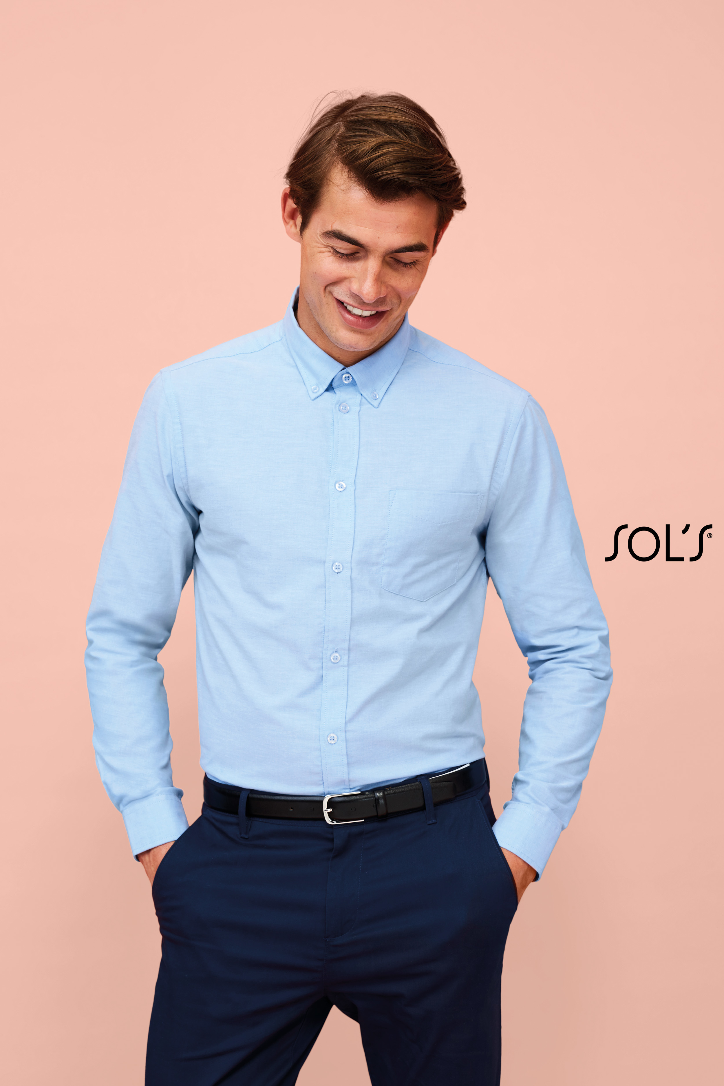Chemise homme manches longues Boston fit