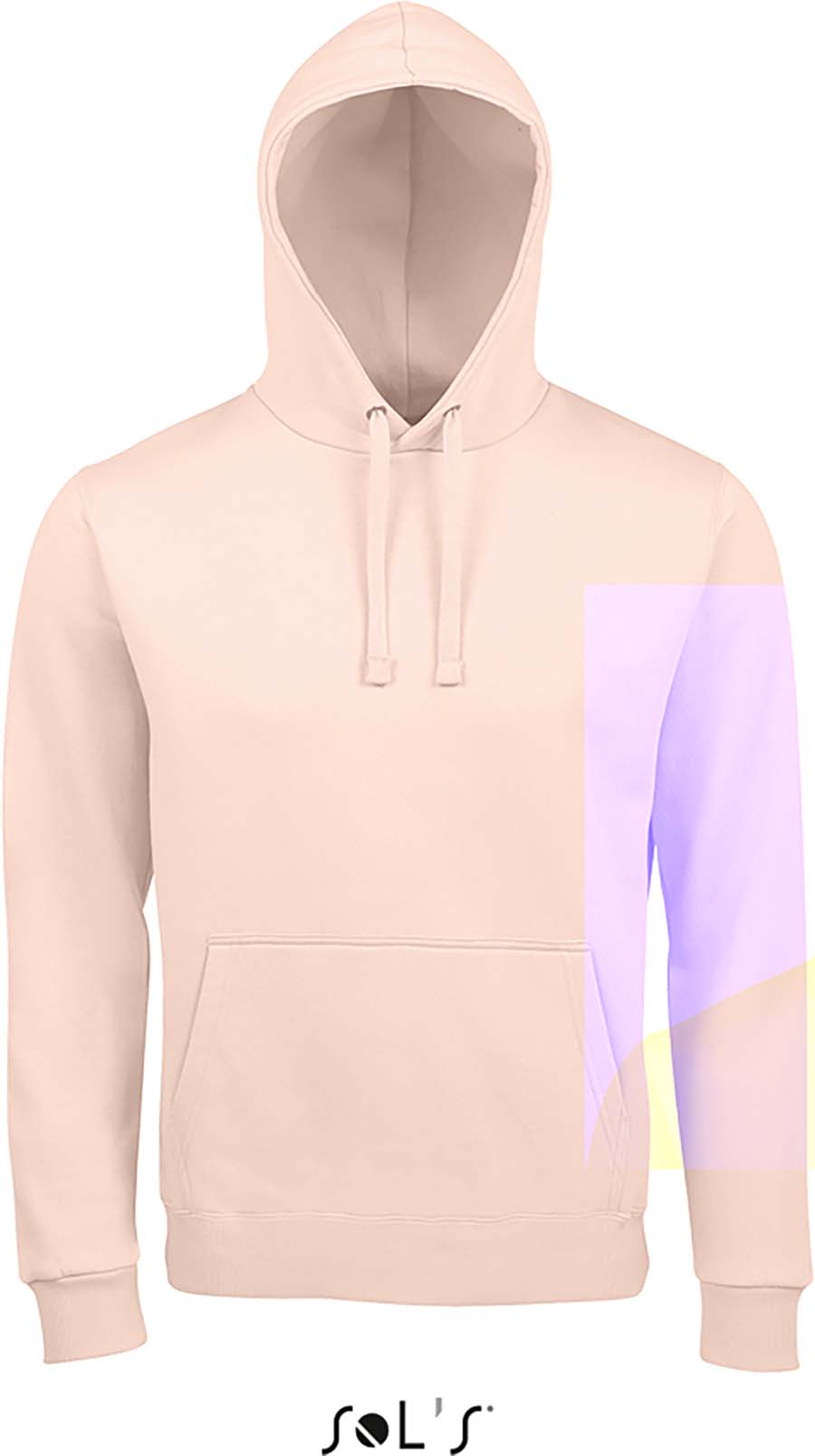 Sweat-shirt unisexe à capuche - 1-1403-8