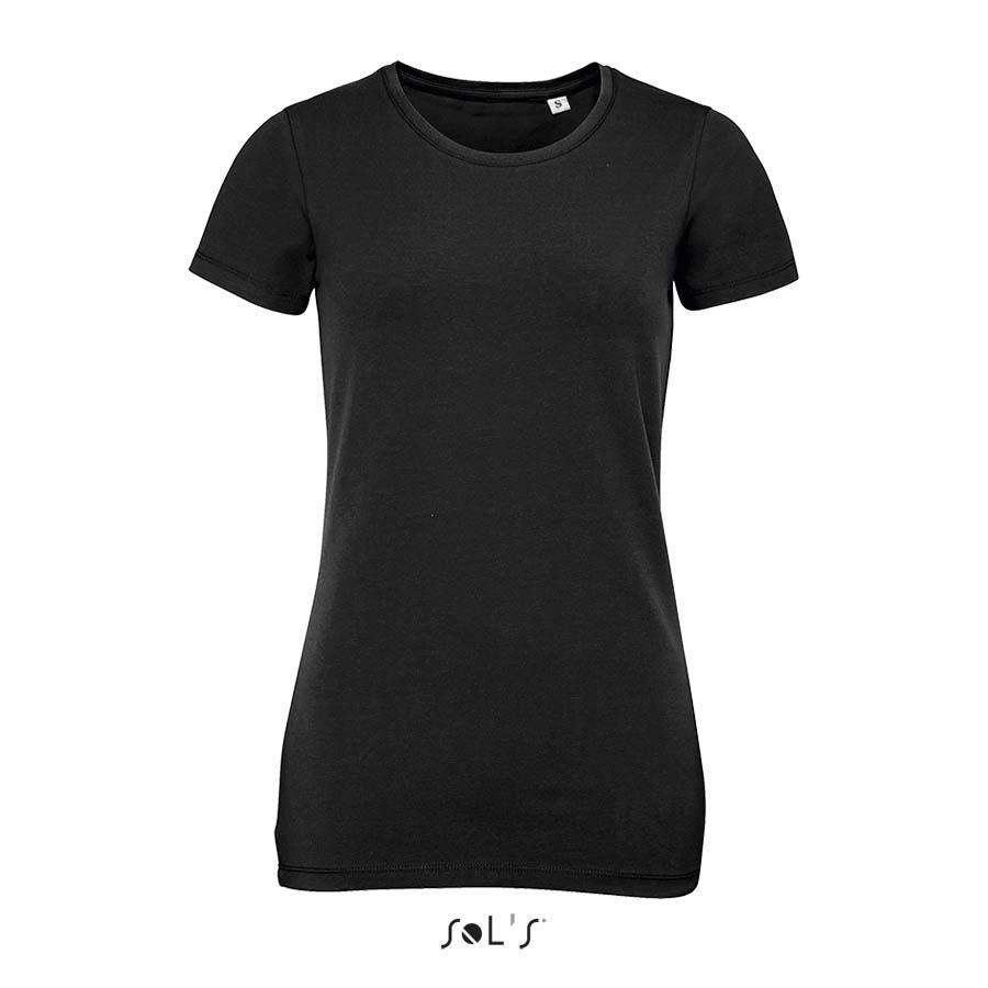 Tee-shirt col rond femme Millenium - 1-1409-1