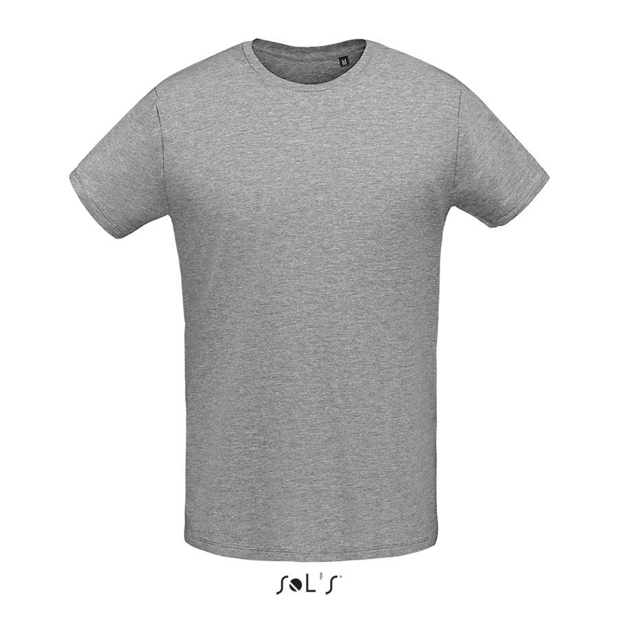 Tee-shirt col rond ajusté homme - 1-1412-6