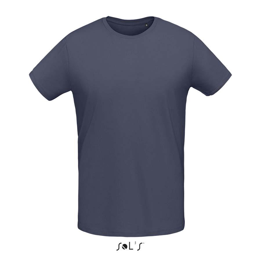 Tee-shirt col rond ajusté homme - 1-1412-7