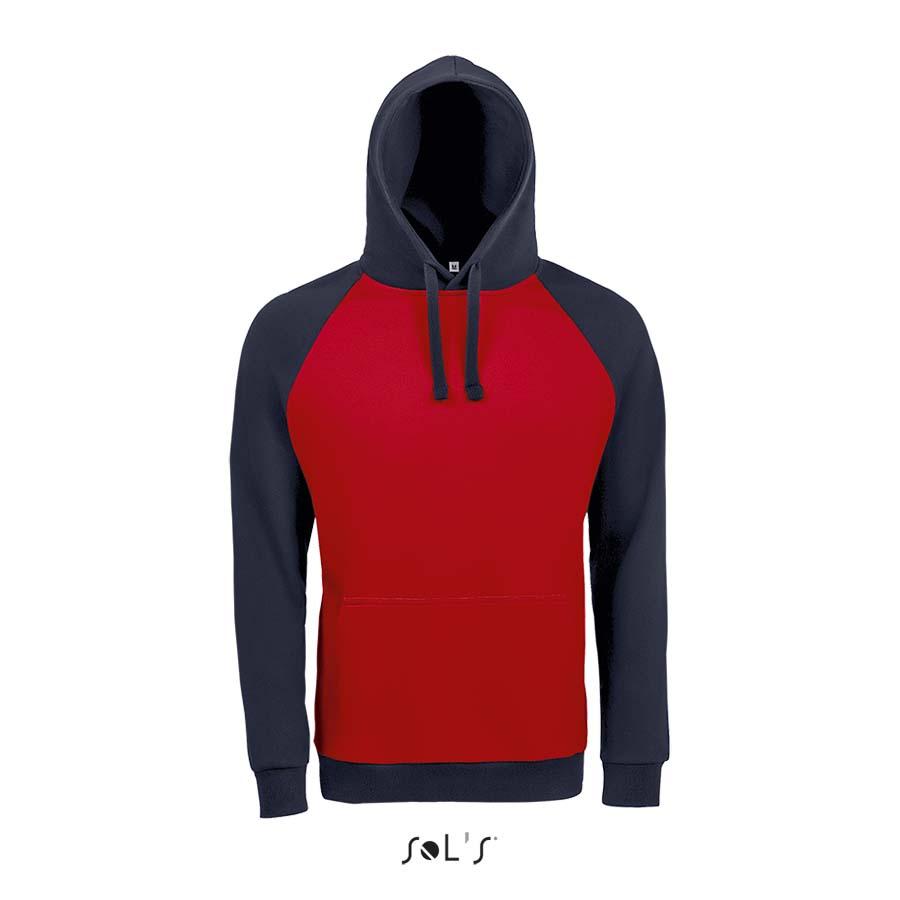Sweat-shirt unisexe bicolore - 1-1419-1