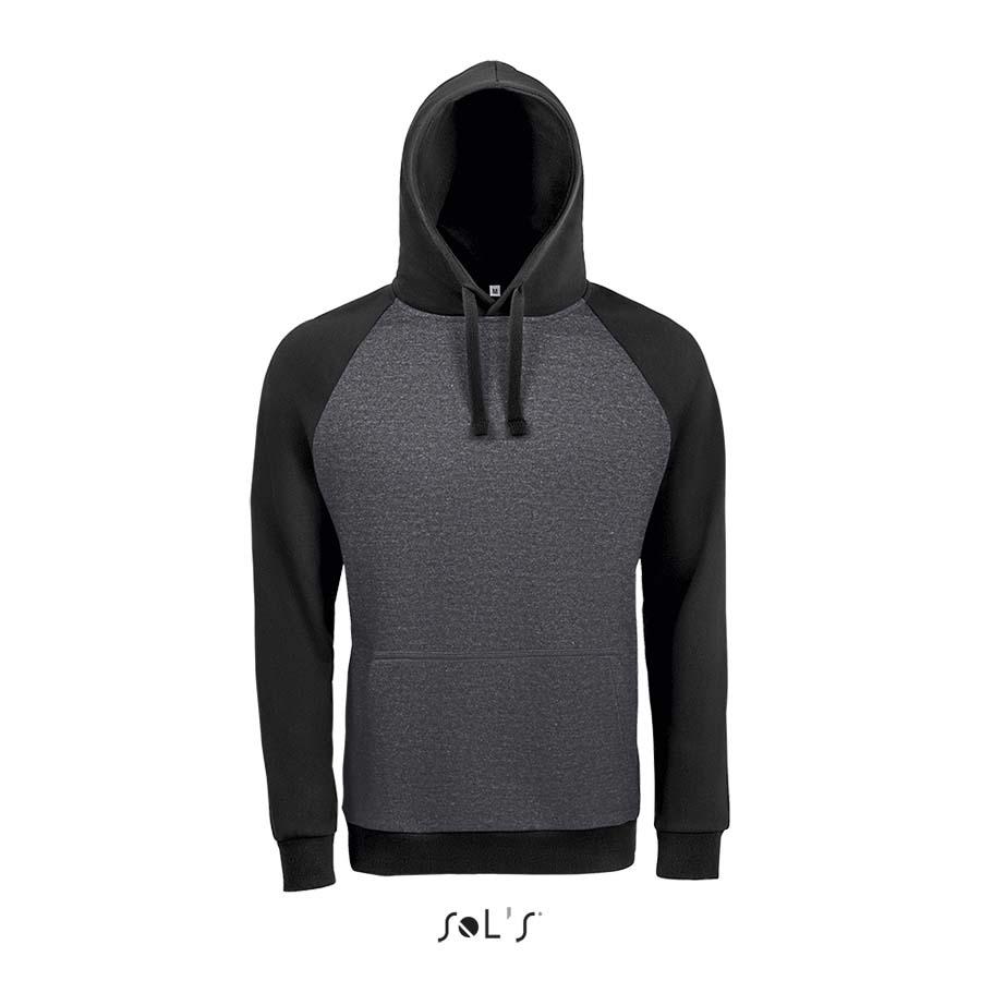 Sweat-shirt unisexe bicolore - 1-1419-2