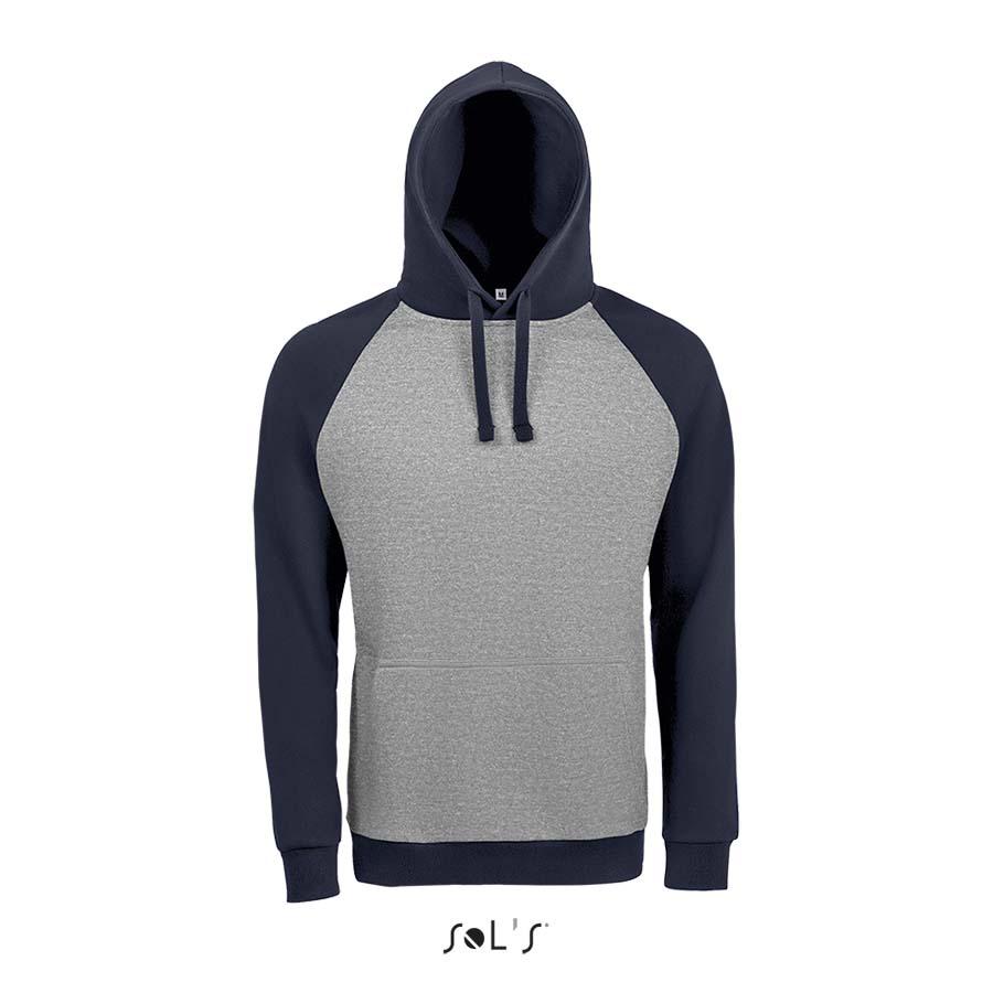 Sweat-shirt unisexe bicolore - 1-1419-3