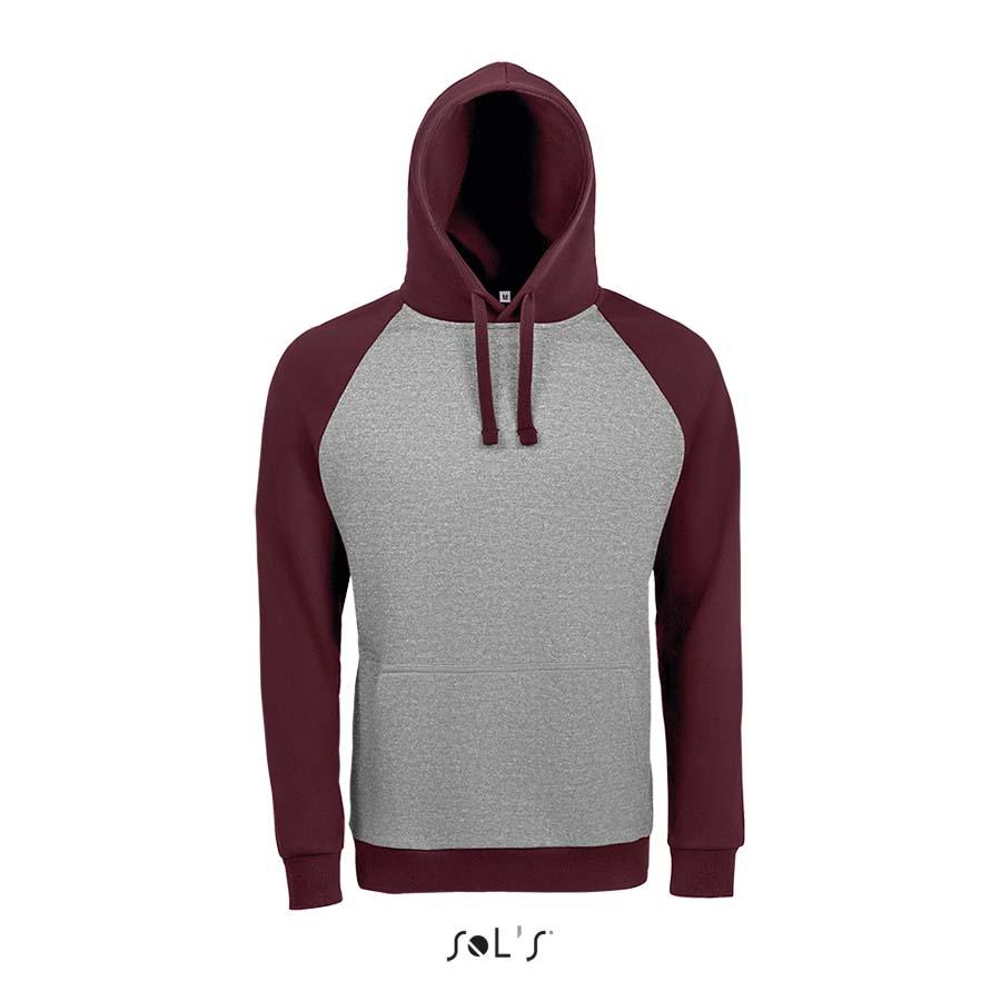 Sweat-shirt unisexe bicolore - 1-1419-4