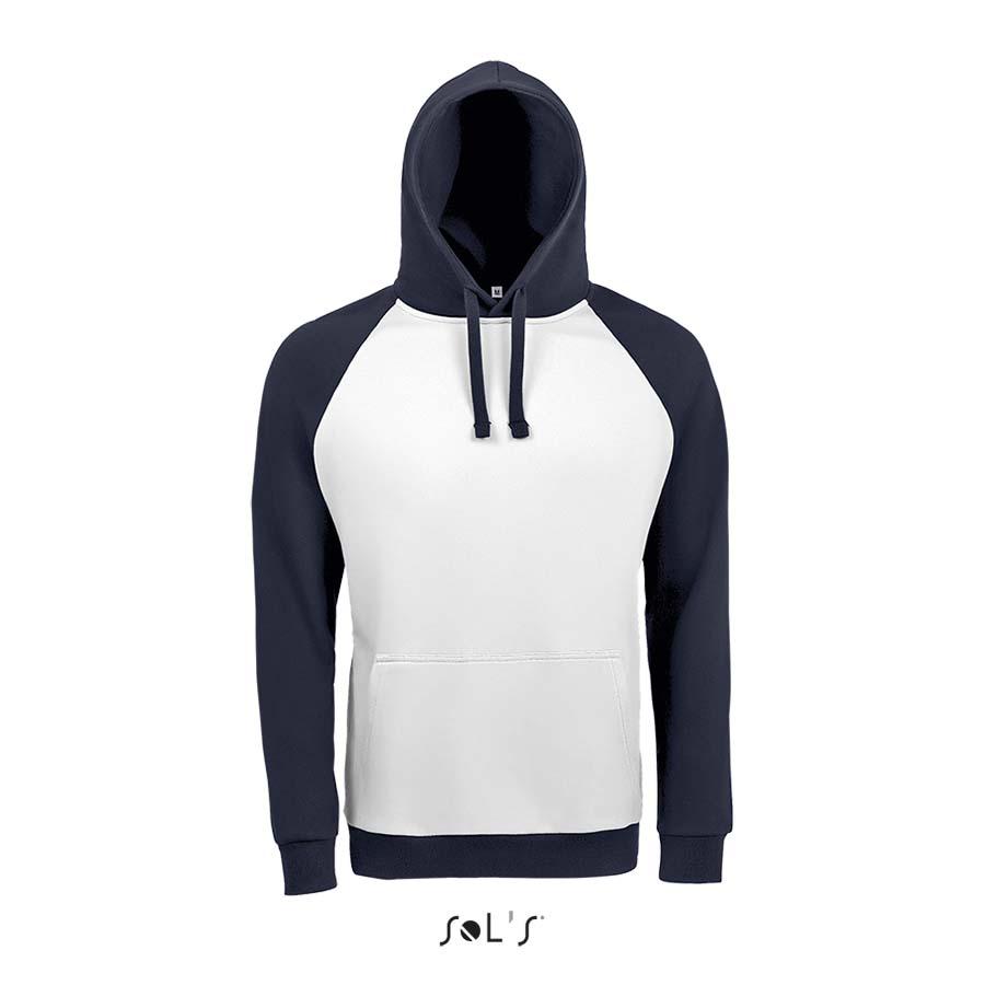 Sweat-shirt unisexe bicolore - 1-1419-8