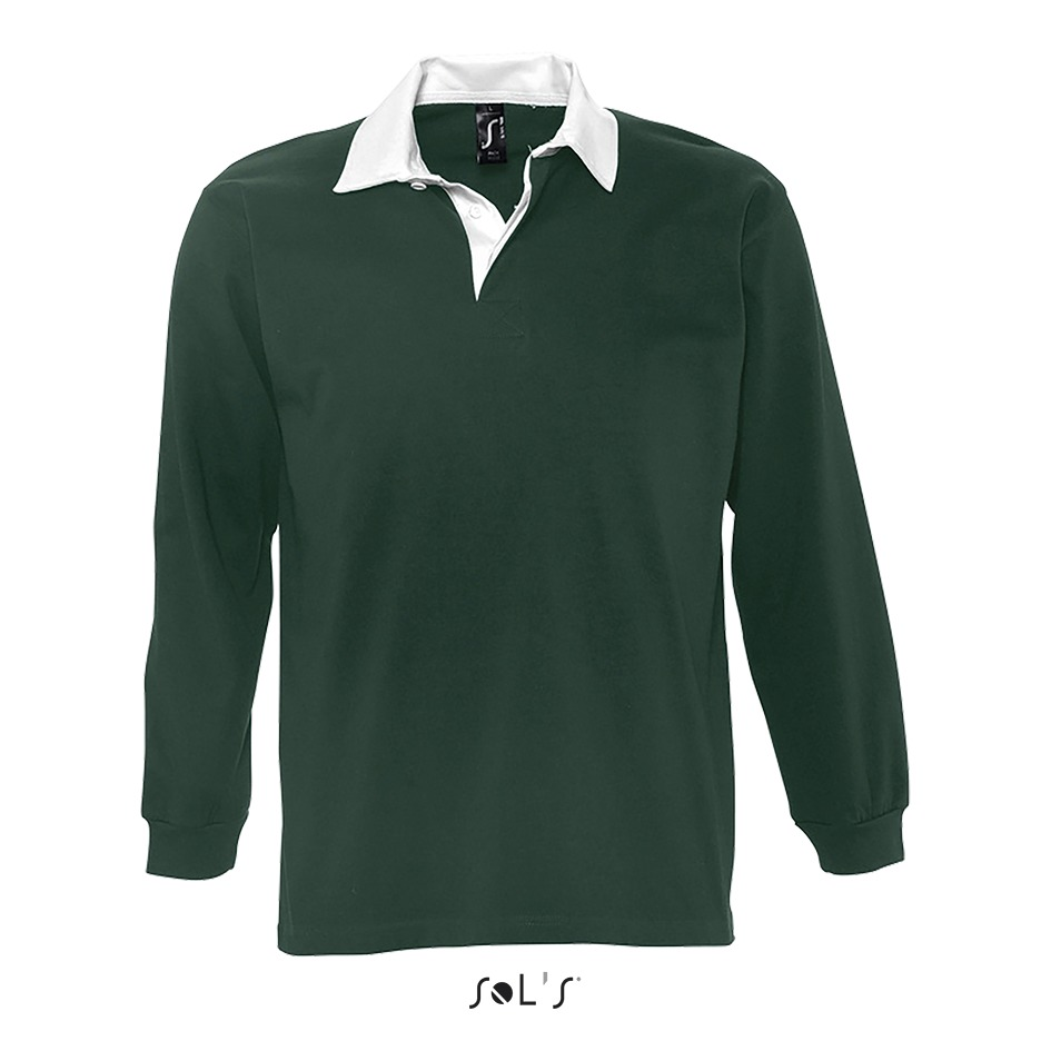 Polo rugby homme bicolore - 1-1438-1