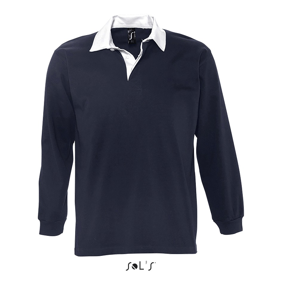 Polo rugby homme bicolore - 1-1438-2