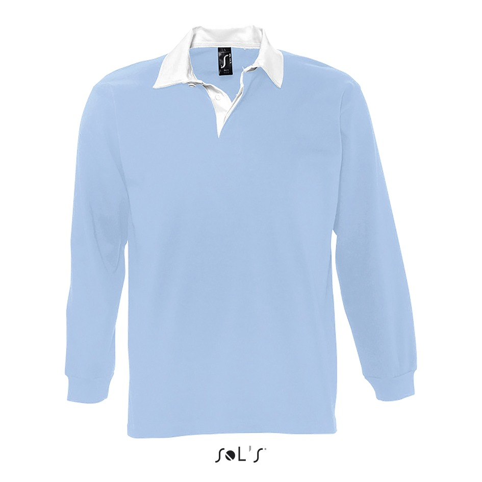 Polo rugby homme bicolore - 1-1438-4