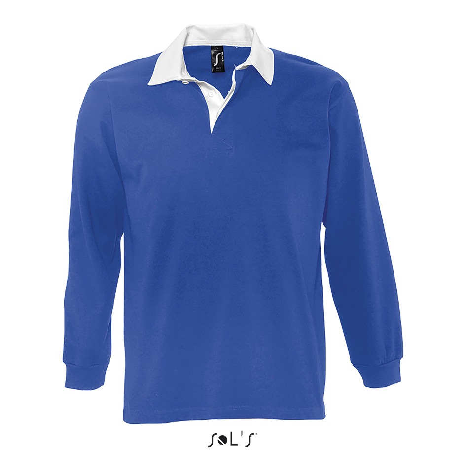 Polo rugby homme bicolore - 1-1438-5