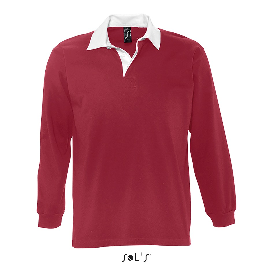 Polo rugby homme bicolore - 1-1438-8