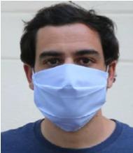Masque à usage non-sanitaire lavable