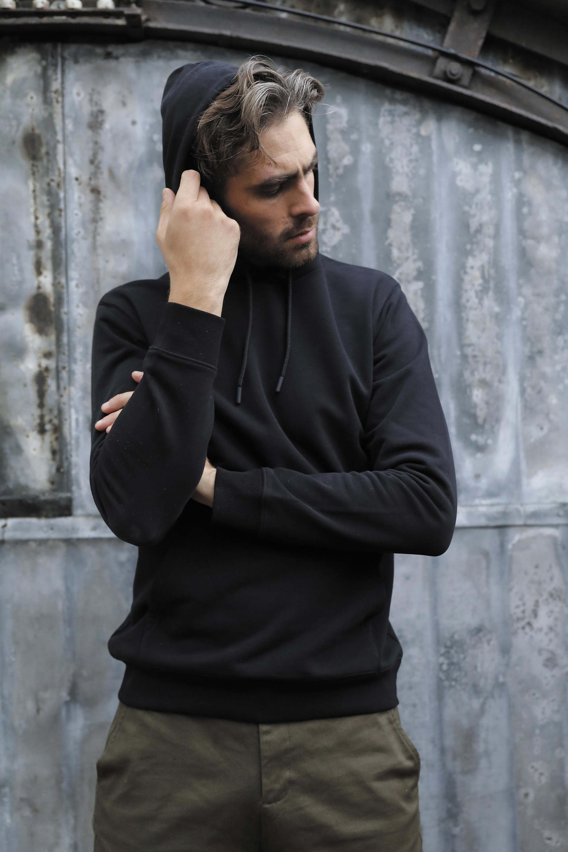 Sweat-shirt a capuche french terry homme