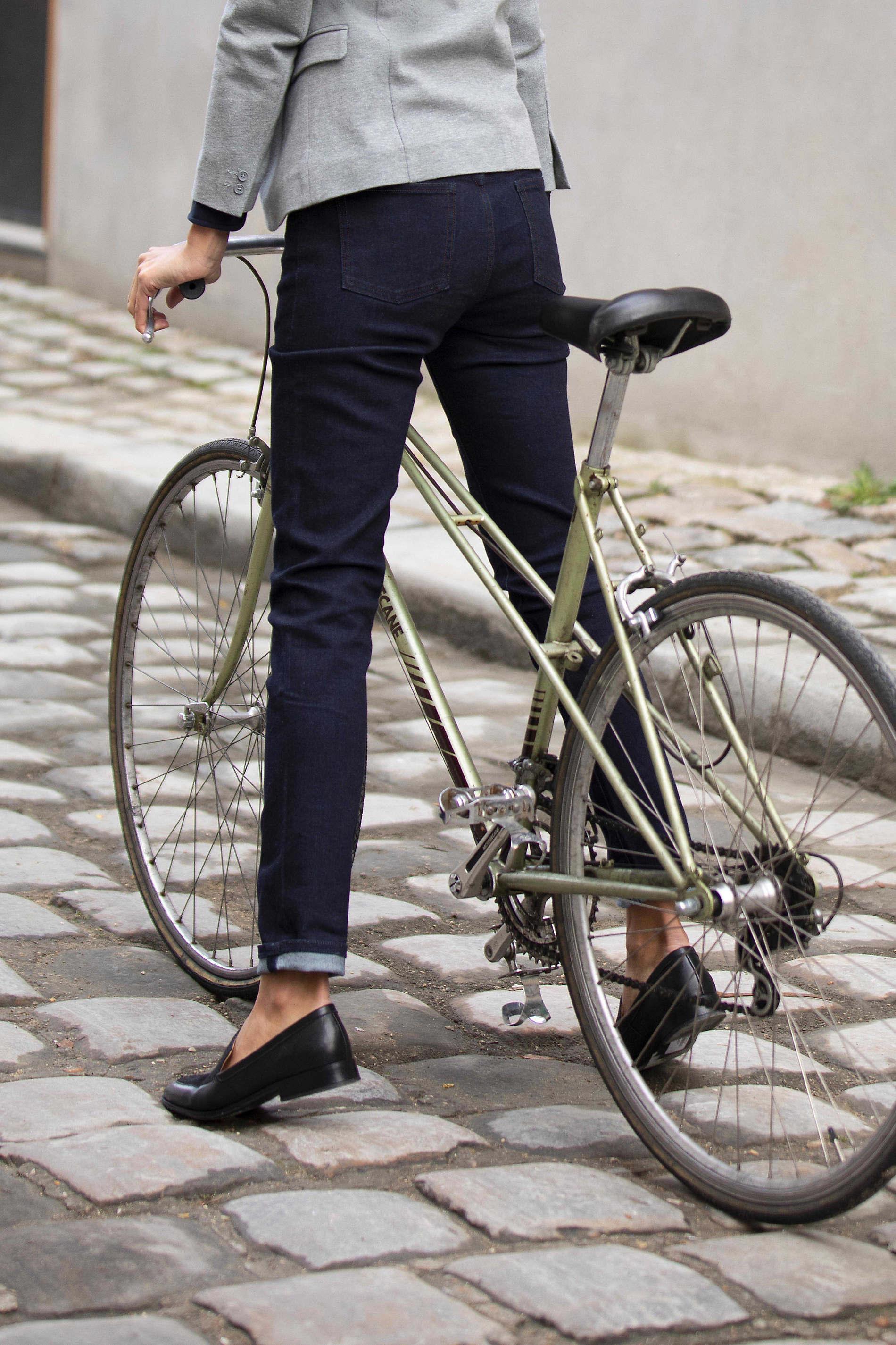 Jeans slim stretch femme