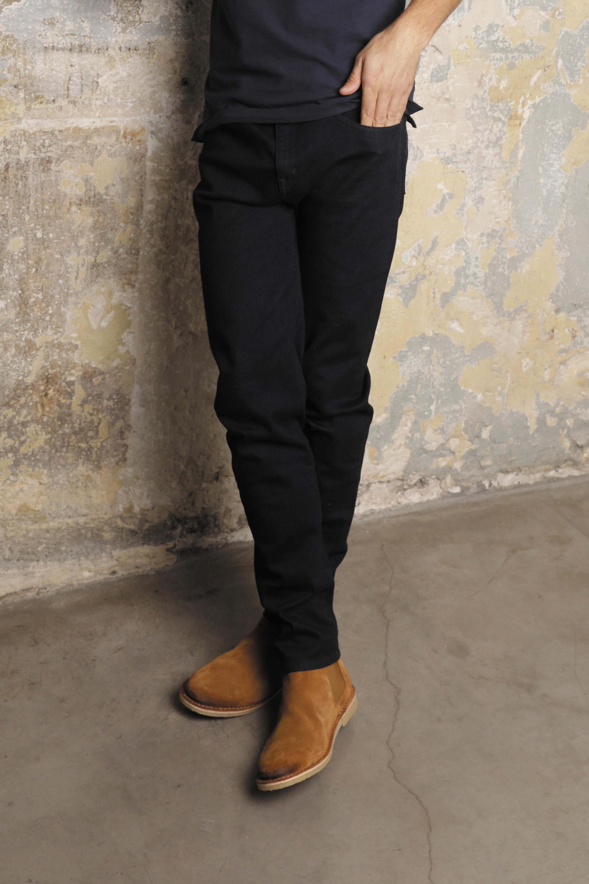 Jeans droit stretch homme