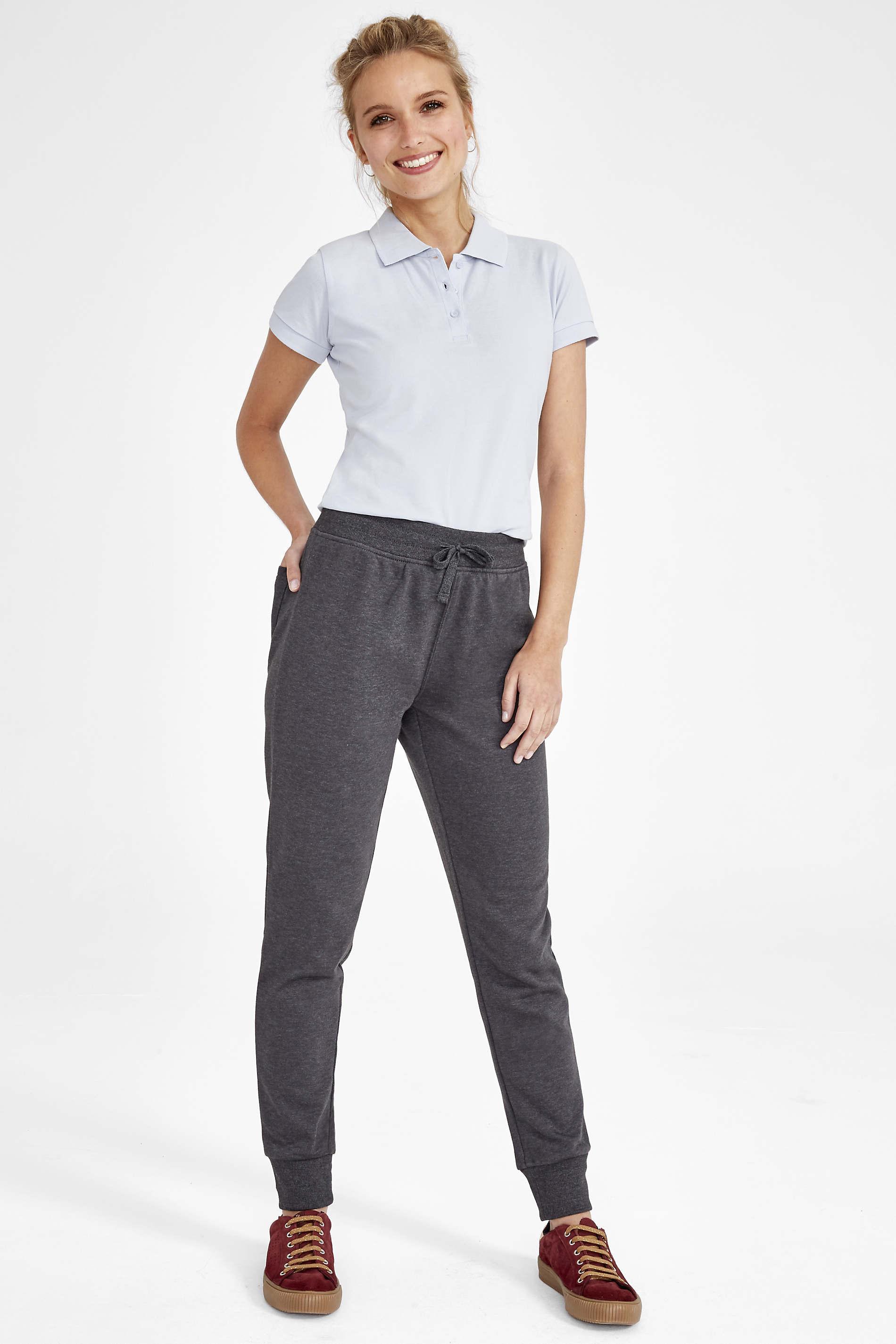 Pantalon Jogging femme coupe slim