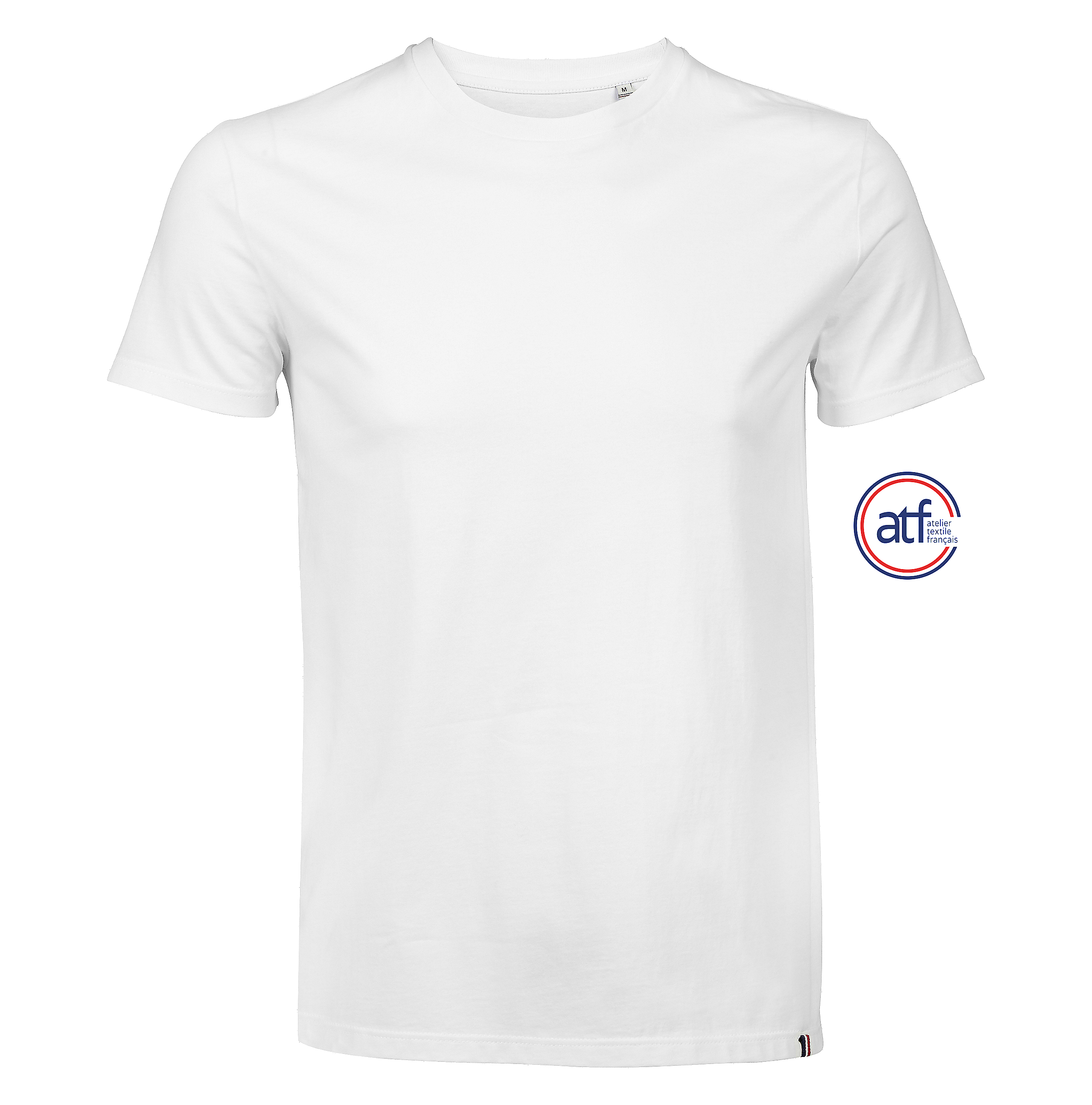 Tee-shirt homme col rond made in France Lino