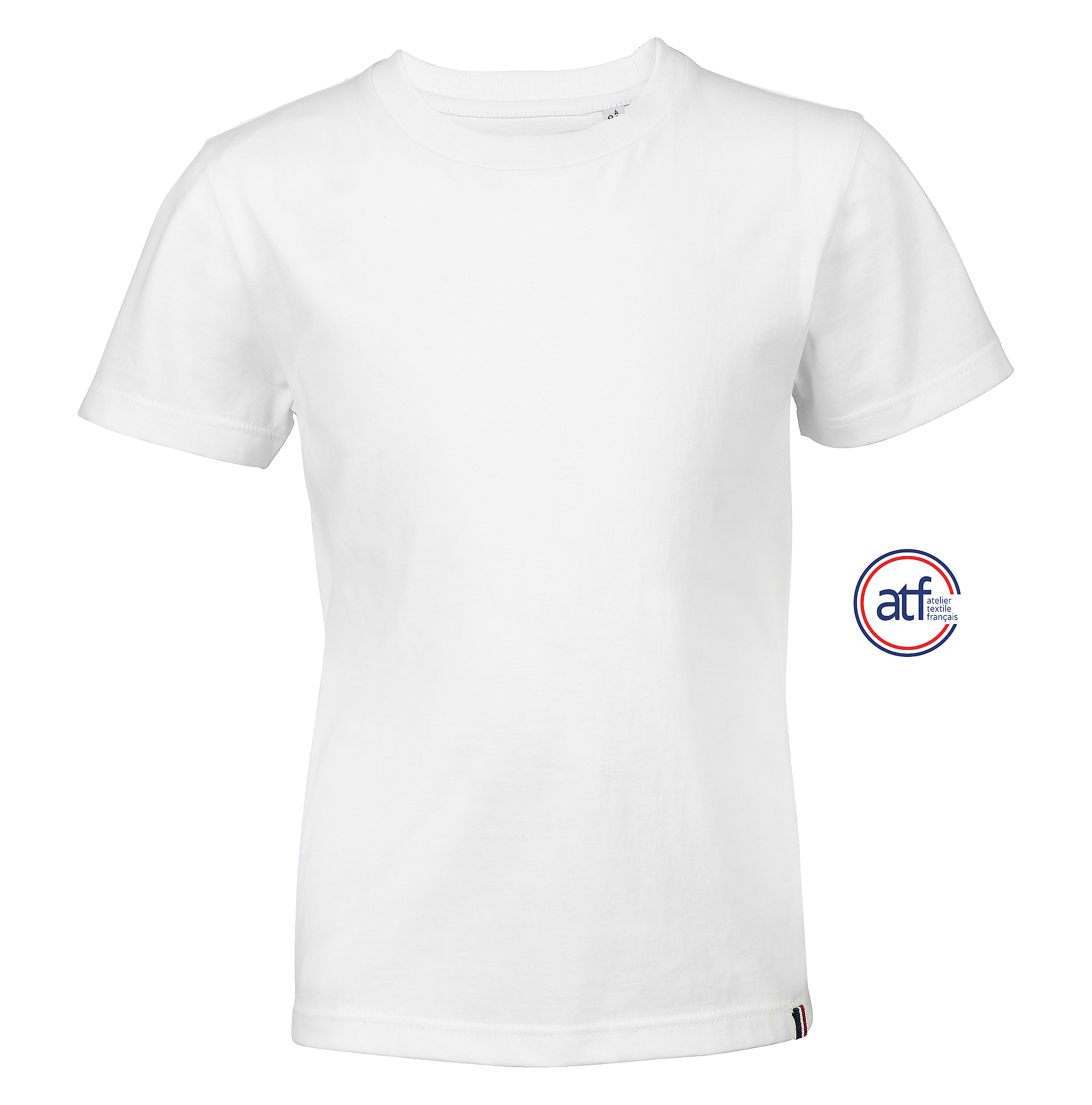 Tee-shirt enfant col rond made in France