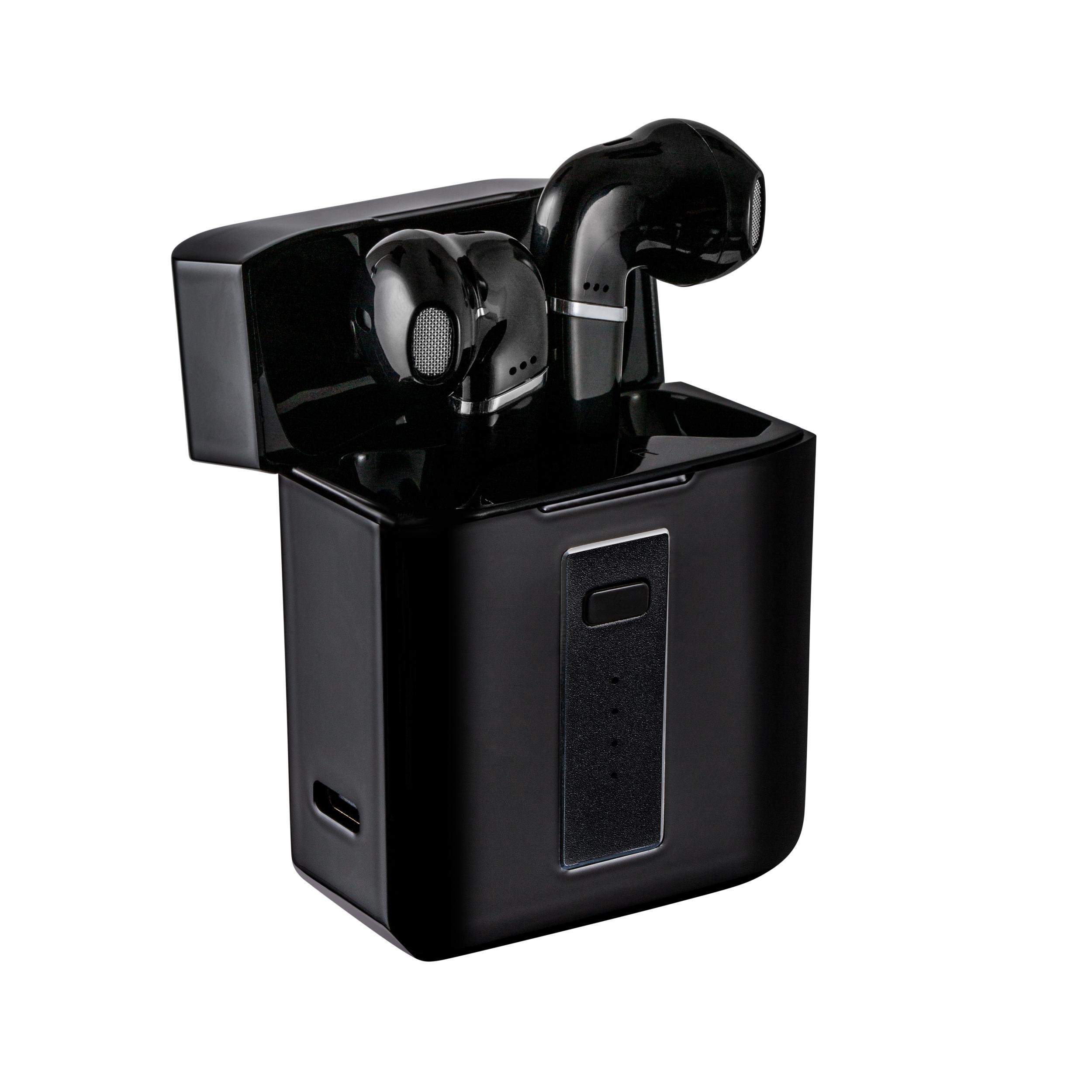 Casque d'écoute sans fil avec étui de chargement