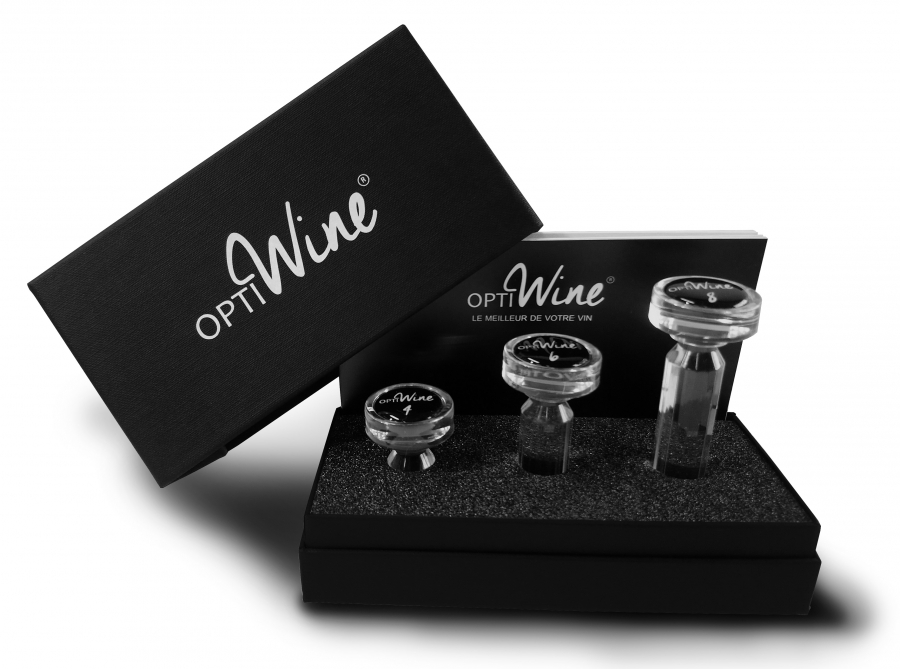 Set de trois carafe de poche OPTIWINE® Secret