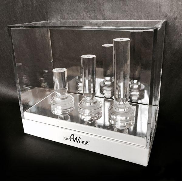 Set de trois carafe de poche OPTIWINE® Eclat - 110-1008-3