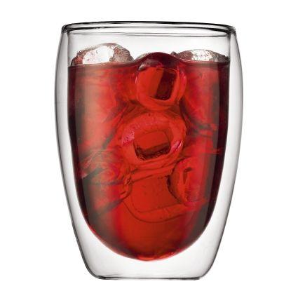 Set de 2 verres BODUM double Paroi PAVINA®