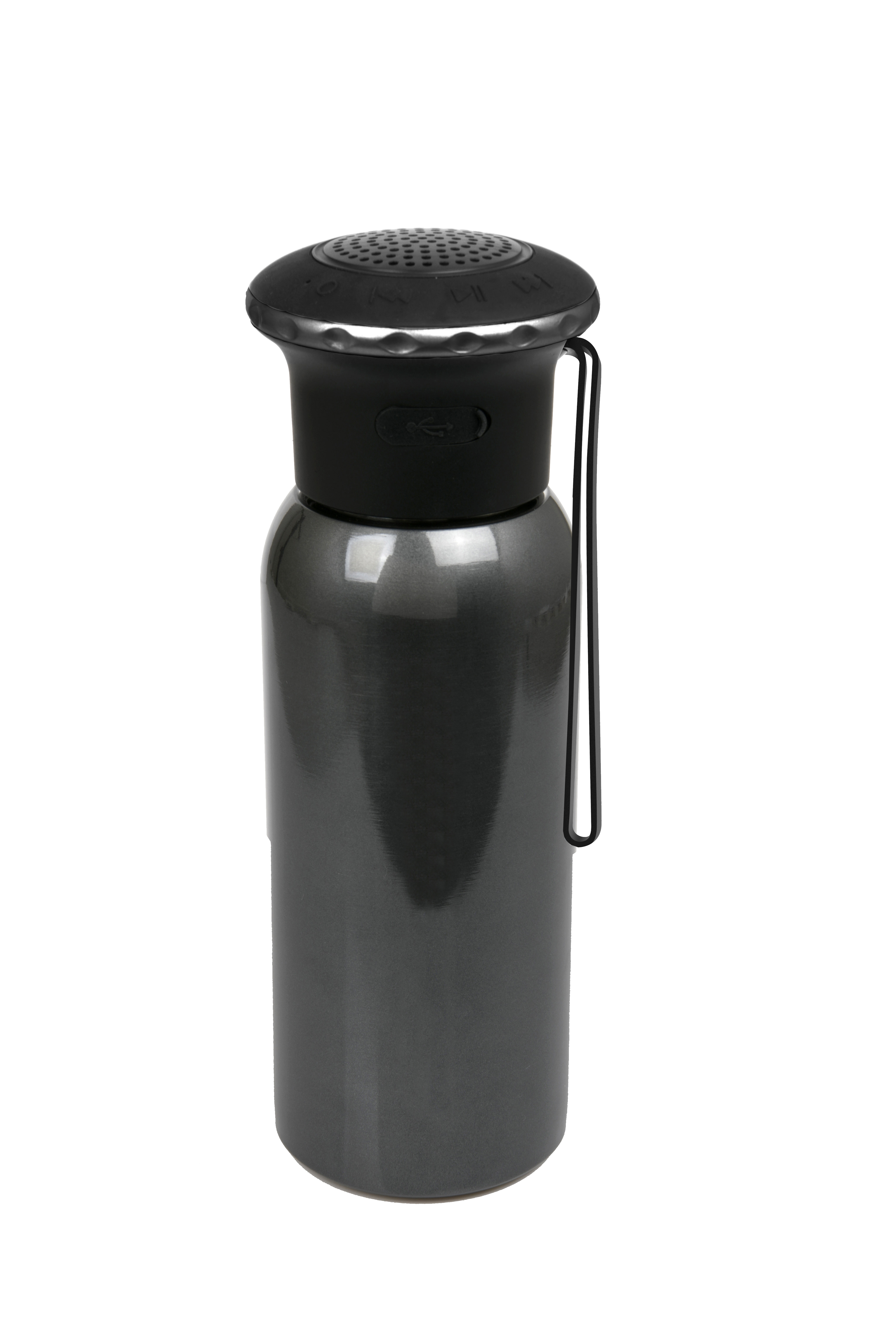 Enceinte bouteille isotherme en acier inoxydable