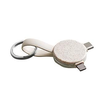 Câble porte-clés 3-en-1
