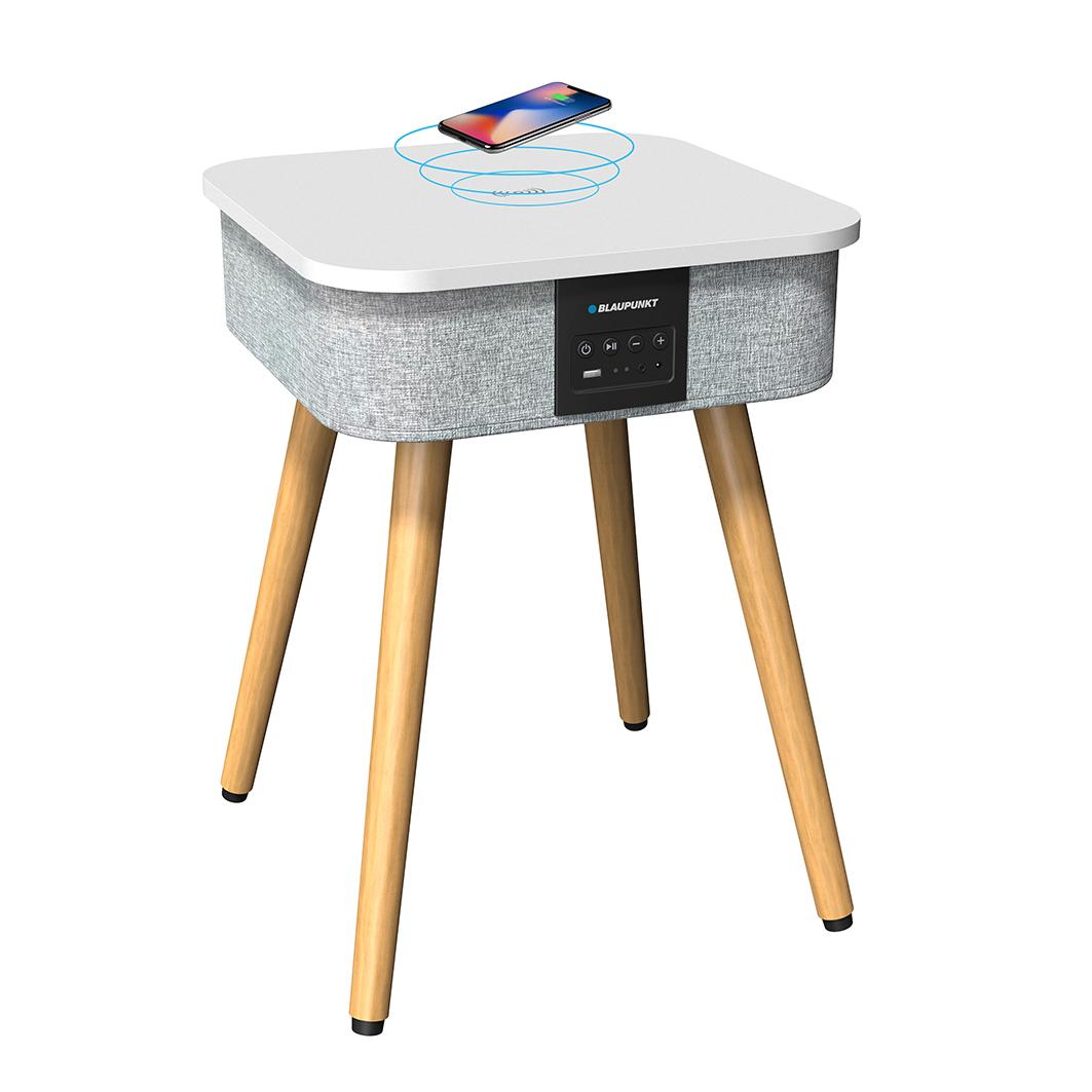 Table enceinte avec chargement induction