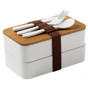 Lunchbox en bambou recyclé