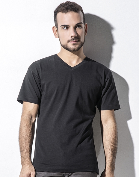 Tee-shirt homme col V organique James
