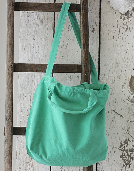 Sac canvas zippé