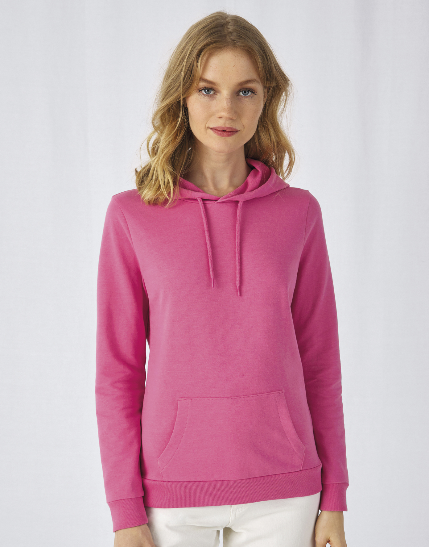 Sweat-shirt capuche femme french terry