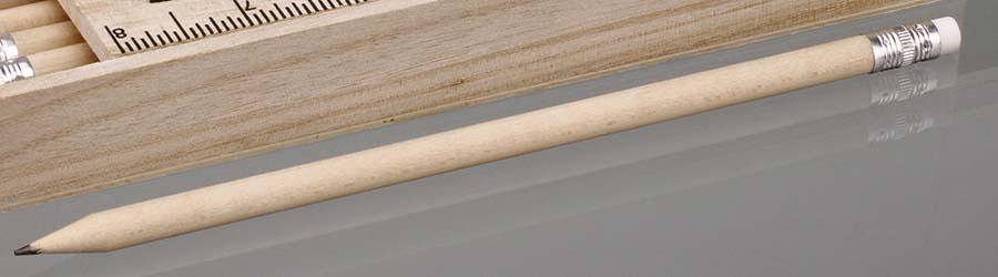 Crayon de papier avec gomme Freja