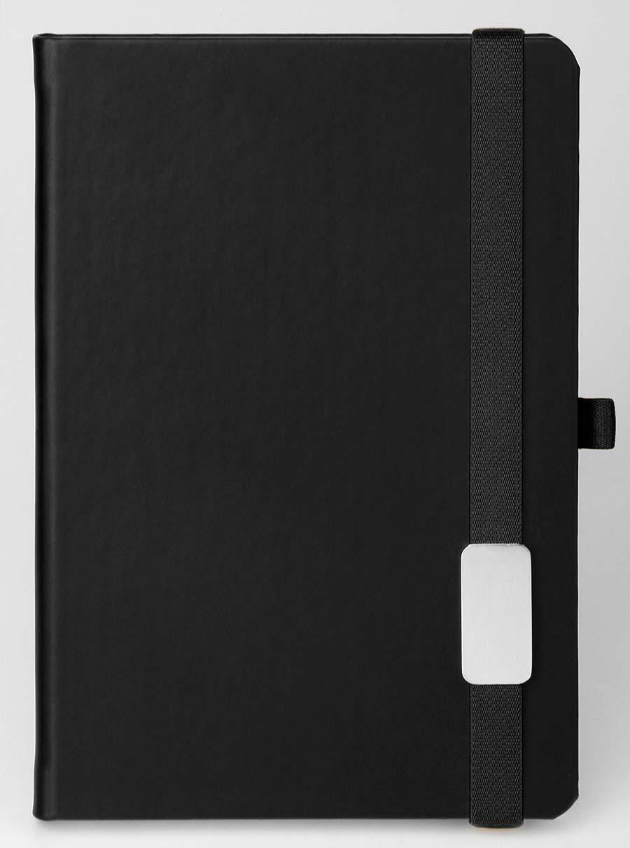 Carnet avec bande élastique Lanybook